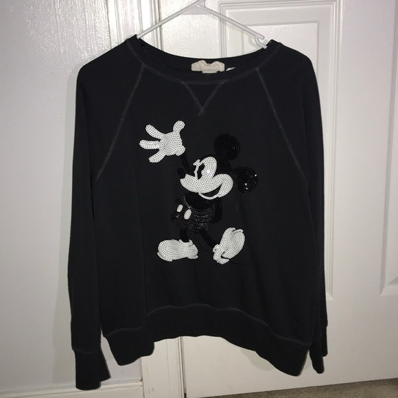 H&M Mickey Mouse sequin sweatshirt